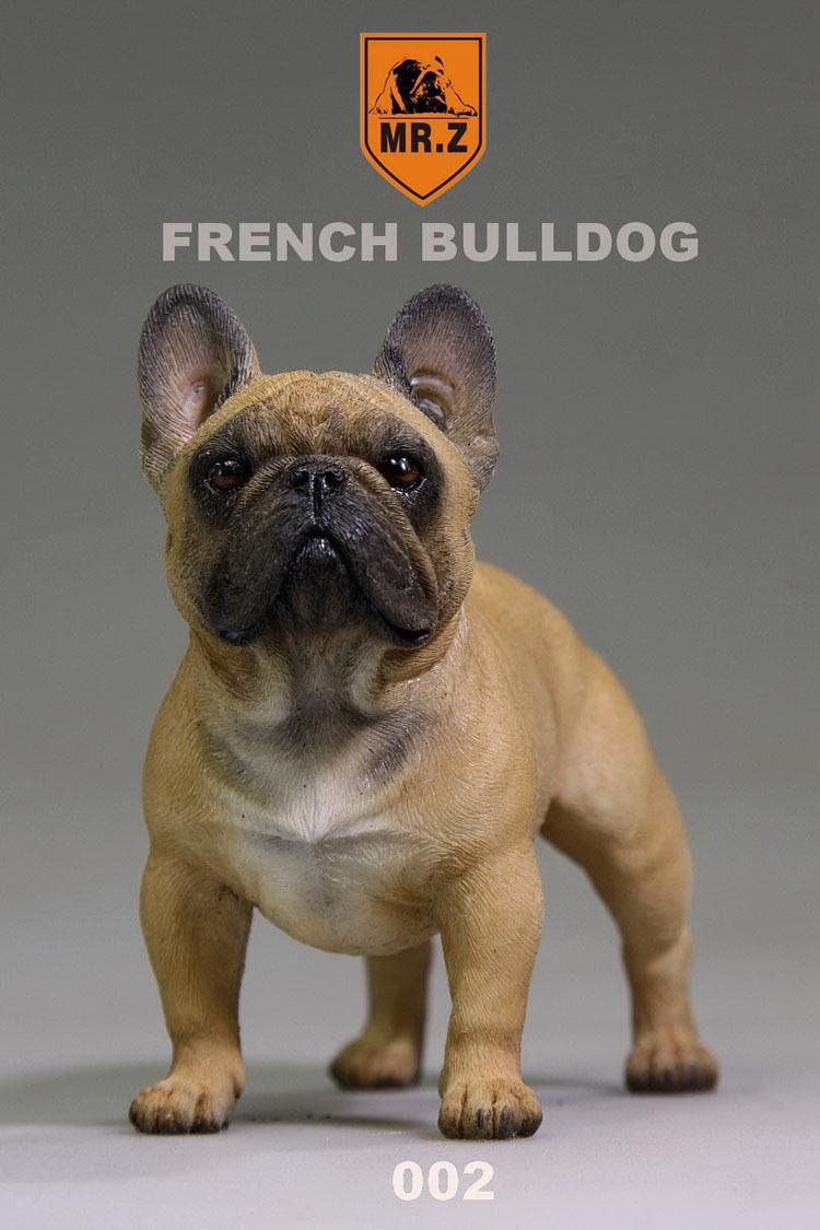 Mr.Z 002 Animal Simulation Simulation Simulation 1 6 Scale French Bulldog for 12  Figure Scene cb93de