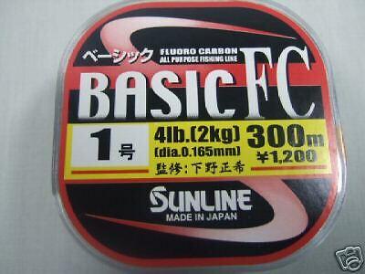 FISHING LINE 328yd SUNLINE BASIC FC 4LB//300M