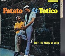 LP PATATO AND TOTICO PLAY THE MUSIC OF CUBA