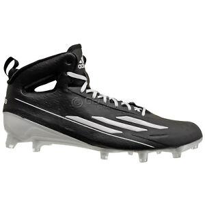 nuove adidas adizero 5 star metà mens football scarpe: nero su ebay