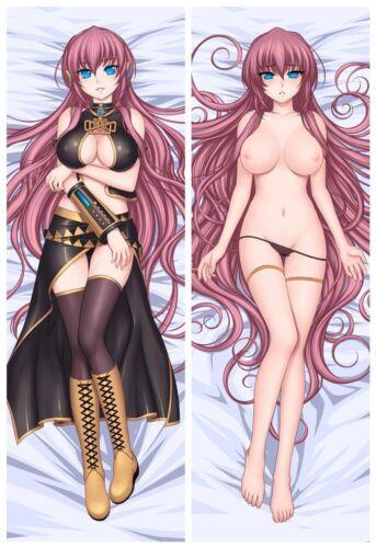 Neu Vocaloid Megurine luka Dakimakura Kissenhülle 2WT Bezug Pillowcase 150x50CM