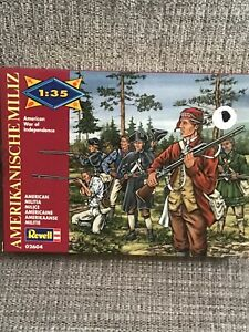 Revell-American-War-of-Independence-American-Militia-1-35-Toy-Set-Brand-New