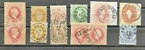 AUSTRIA-LOT-for-specialists-INTERESTING-POSTMARKS-FVF