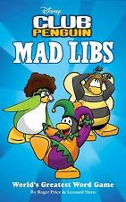 Disney Club Penguin Mad Libs - Acceptable - Price, Roger - Paperback