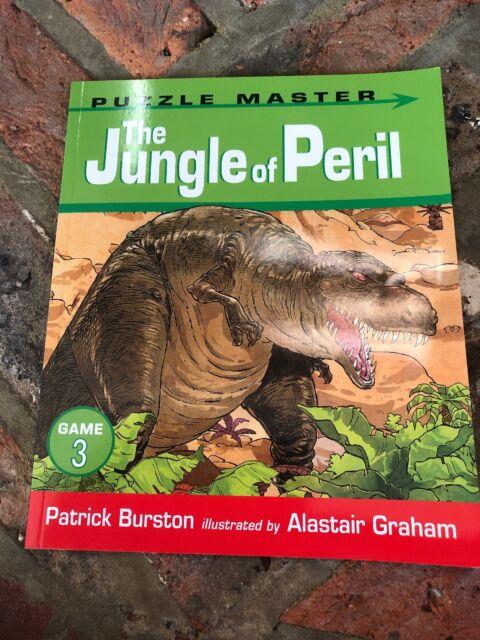 (Good)-The Jungle of Peril (Puzzle Master) (Paperback)-Patrick Burston-140631774