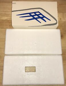 1984-Apple-Macintosh-Model-M0110-Keyboard-EMPTY-FOAM-HOLDERS-and-Sleeve-Mac-128K