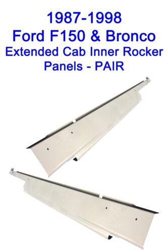 1987-1998 FORD PICKUP TRUCK F-150 F350 EXTENDED CAB INNER ROCKER PANELS F250