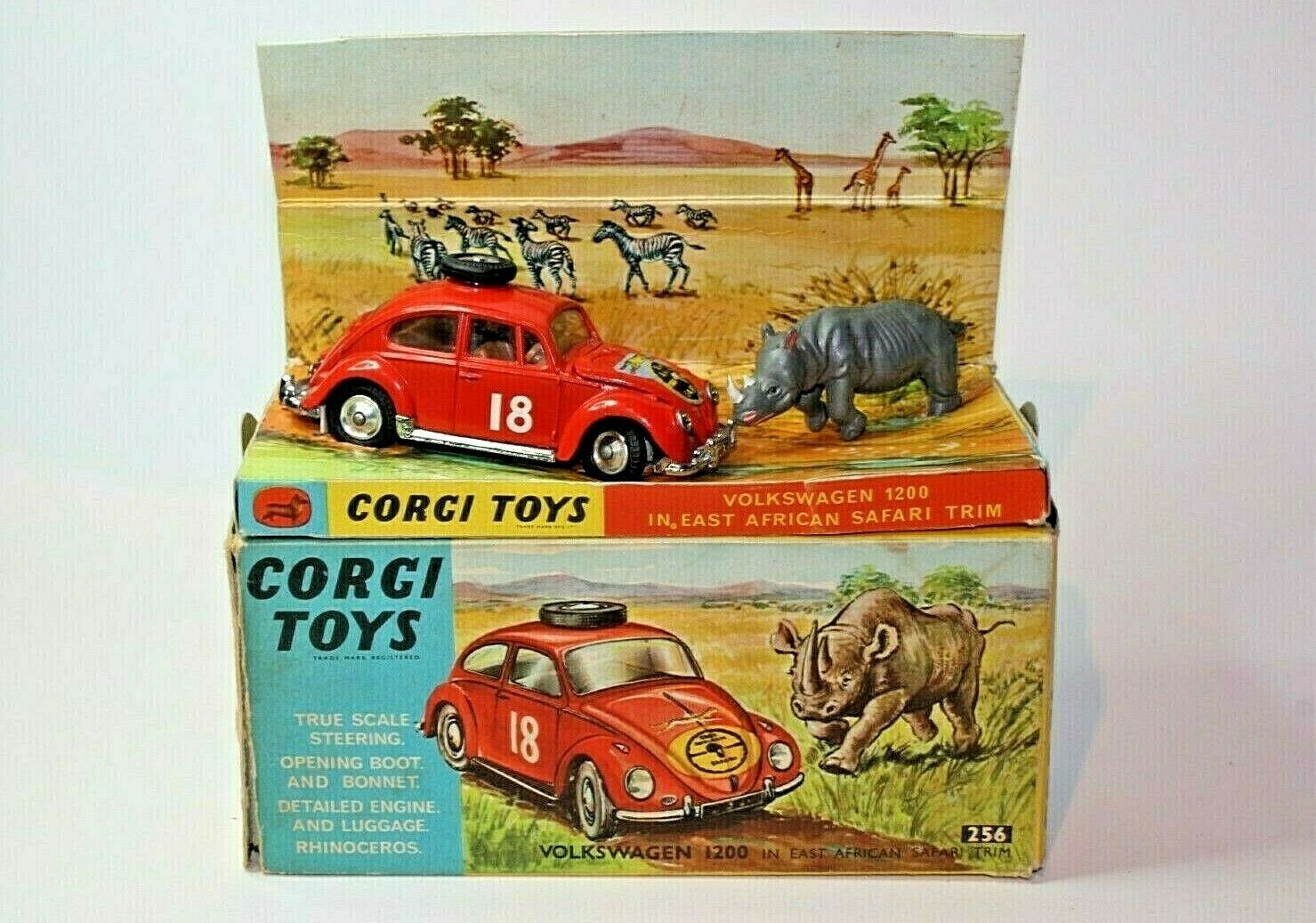 Corgi 256 VW East African Safari in Excellent Condition in Good Original Box