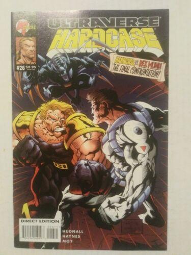 Ultraverse Hardcase #26 August 1995 Malibu Comics Hudnall Haynes Moy