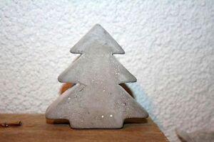 tannenbaum weihnachtsbaum tanne zement beton grau 8x8x2 3. Black Bedroom Furniture Sets. Home Design Ideas