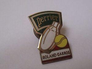 Pin-039-s-tennis-Roland-Garros-perrier-EGF