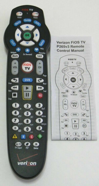 Amazon. Com: original verizon vz p265v3 fios remote control.