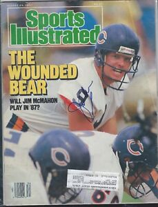 Sports-Illustrated-JIM-McMAHON-AUTOGRAPHED-COVER-8-24-1987