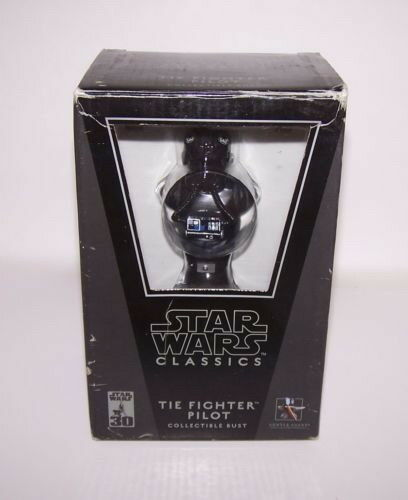 Star Wars Tie Fighter Pilot Collectible Mini Bust 1AB010986 NIB Gentle Giant