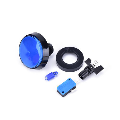 60mm LED Light Big Round Arcade Video Game Player Push Button Switch Lamp SKUS