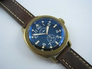 ZENO-Carre-Bronze-Big-Date-Quarz