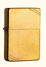 Zippo Vintage Brass brushed