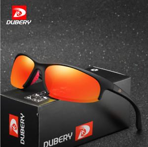 DUBERY Men Sports Polarized Sunglasses Ourdoor Driving Riding Fishing Glasses