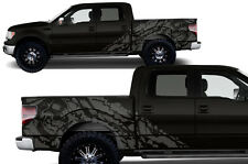 Custom Vinyl Decal Graphics Nightmare Wrap Kit for Ford F-150 09-14 Nimbus Gray