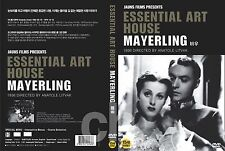 Mayerling (1936) - Anatole Litvak, Danielle Darrieux, Charles Boyer  DVD NEW