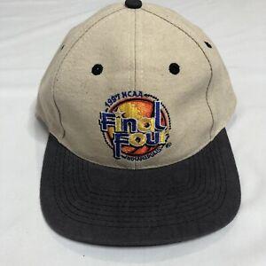 RARE-Vintage-NCAA-1997-Final-Four-Indianapolis-Snapback-Hat-Cap-Logo-7-EUC