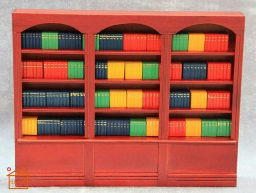 112 Cute MINI Dollhouse Miniature bookshelf cabinet