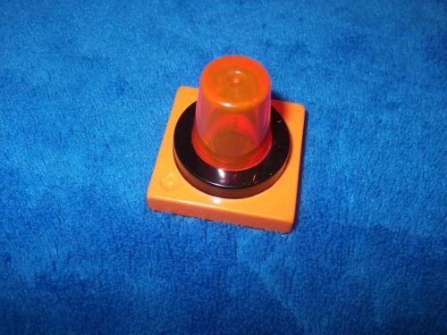 Lego Duplo 1 X Sirene ohne Funktion dick groß Orange Licht 41195