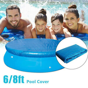 6/8/ft Round Swimming Paddling Family Easy Set Pool Cover Protector Case YT