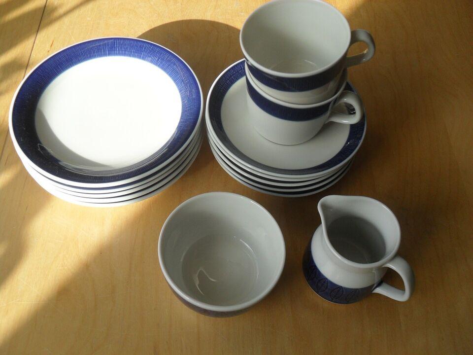 Porcelæn, Sukker - Flødesæt, Kaffekopper