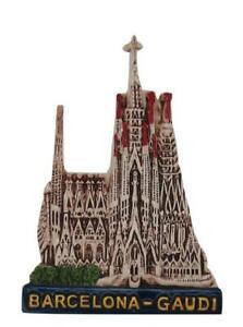 Barcelona-Gaudi-Sagrada-Familia-Magnet-Souvenir-Spanien-Espana-Spain-10cm-Neu
