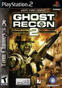 Tom-Clancy-039-s-Ghost-Recon-2-First-Contact-Sony-PlayStation-2-PS2-DD