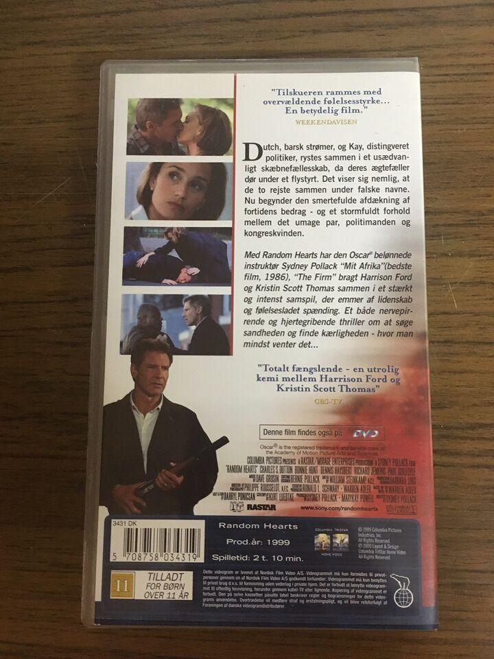 Action, Random Hearts, instruktør Sidney Pollack