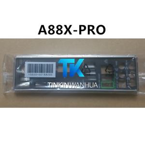 IO I//O SHIELD back plate BLENDE BRACKET for ASUS  P8H61 EVO M5A88-M M5A78L-M USB