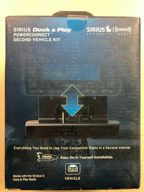 Universal Sirius Car Vehicle Kit with PowerConnect DocknPlay Brand New SADV2