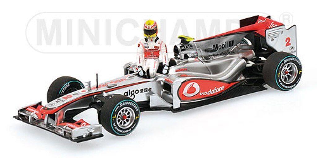 Minichamps 074372 104322 124374 modèle McLaren Mercedes F1 L hamilton 1 43 RD