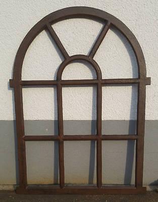Sanft Gußeisenfenster-neu- 95cm,scheunenfenster,gussfenster,eisenfenster,fenster*stal Fest In Der Struktur