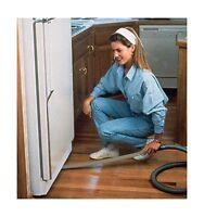 Exten Vac / Flat Vacuum Cleaner Attachment -- 36 Reach Under F... Free Shipping