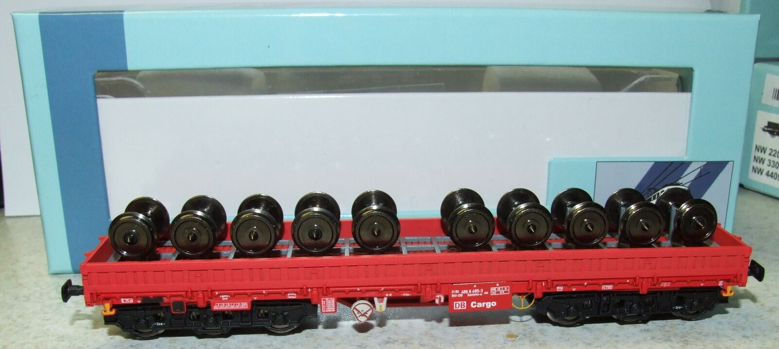 NPE 22075 ruota carrello trasporto Samms U 454 DBAG DC