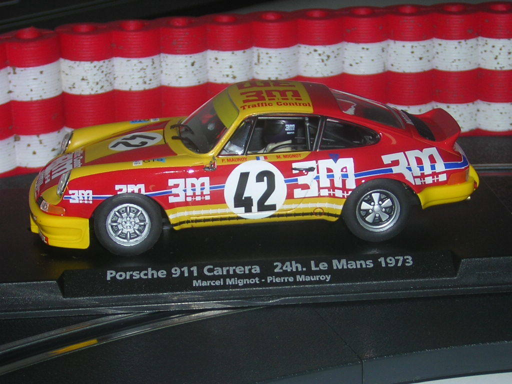 REDUCED Fly A933 Porsche 911 Carrera - 3M 4hr LeMan 1973 New SALES