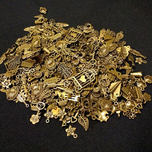 300 G de remolque bronce color Mix diseños diferentes de conector p00mi0042