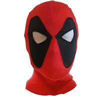 Deadpool Halloween COSplay Spandex Lycra Balaclava Hat Zentai Mask Hood Headgear