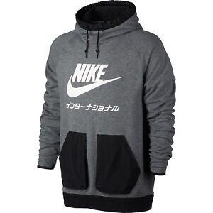 Japan Pull Greyblackwhite International Nike Hoodie Men's Over nY1Ev4wq
