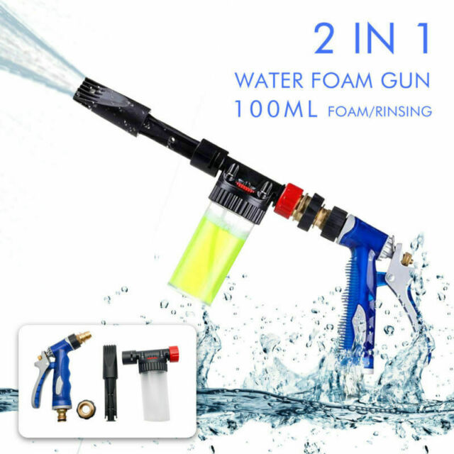 2018 New Car Vehicle Home Wash Snow Foam Water Gun Clean Pipe Washer Spray Gun