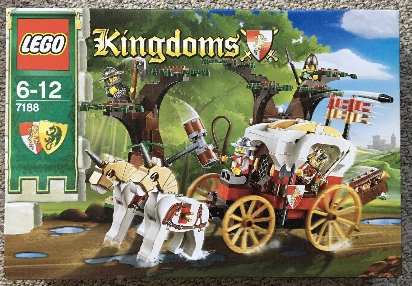 LEGO 7188 Regni Kings CARROZZA AMBUSH NUOVO E SIGILLATO BOX IN PENSIONE Natale Ideale