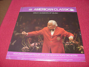 Arthur-Fiedler-amp-Boston-Pops-Orchestra-Great-Moments-LP-BRAND-NEW-SEALED