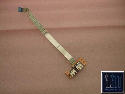 "599524-001 DASX6ATB6E0 HP 4425S SERIES USB CONNECTOR BOARD WITH CABLE /""GRADE A/"""
