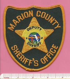 Marion-County-Florida-State-FL-Fla-Deputy-Sheriff-Office-Police-Shoulder-Patch