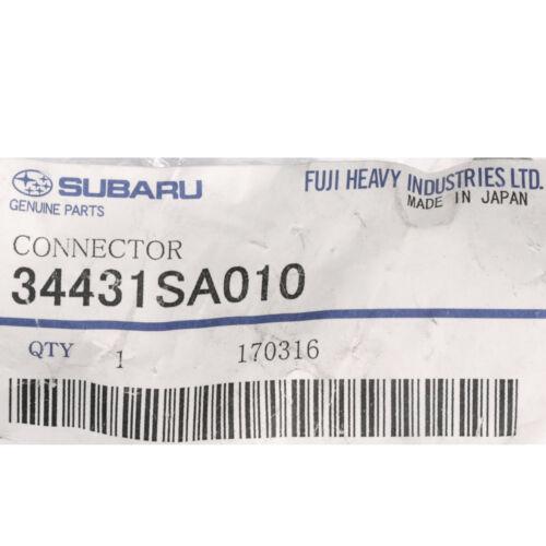 OEM 2003-08 Subaru Forester Impreza Power Steering Pump Connector NEW 34431SA010
