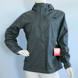 THE-NORTH-FACE-Venture-Women-039-s-Rain-Jacket-TURBULENCE-GREY-MSRP-99