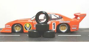 1-32-PAUL-GAGE-SLOT-CAR-TIRES-2pr-PGT-21105LM-fit-Racer-17x8-Alloy-Hubs